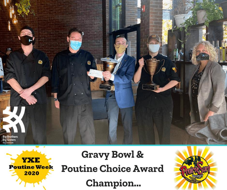 Gravy Bowl and Poutine Choice Award Winner 2020