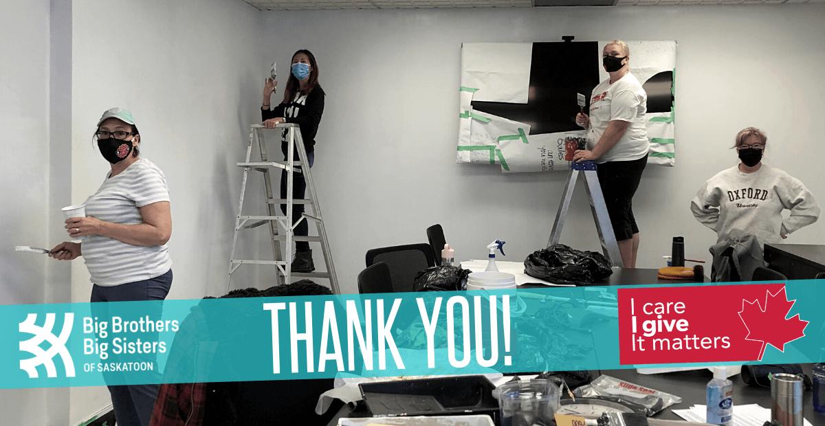 Thank-you, CRA! - Big Brothers Big Sisters of Saskatoon